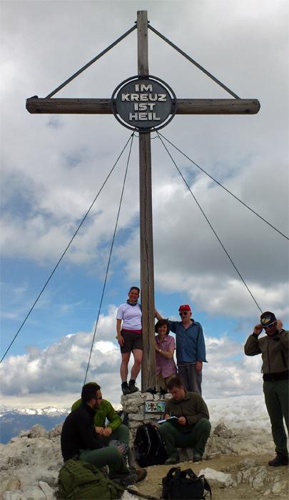 Gipfelkreuz Dürrenstein
